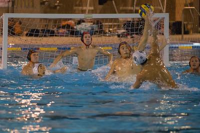 Mason Martuscelli in goal