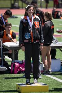 Tasha Jones High Jump Medal
