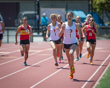 Kendall Mansukhani and Claire Yerby 800M