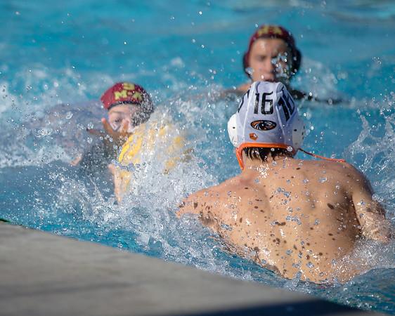 2017 Oct 24 HMBHS Varsity Boys Water Polo PAL Game 1 vs MA