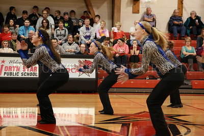Dancers at North Star BBB game 1-30-15