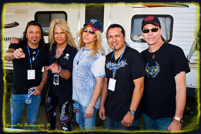 Yes, I am the 5th Stryper member (lol). Well, at least I'm their biggest fan.