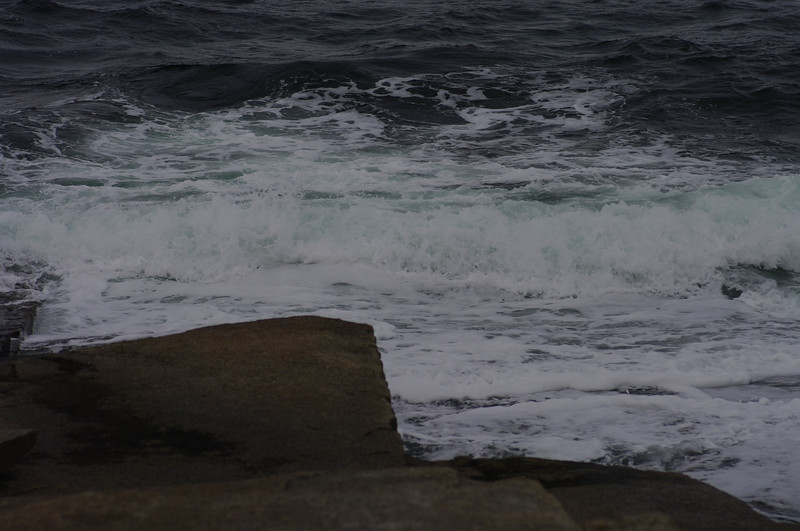 The Sea on a Cold December Day