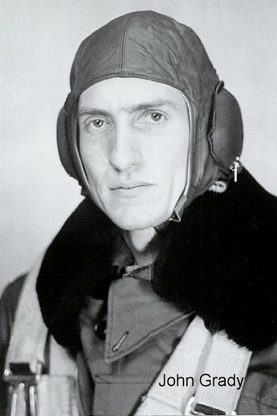 John Bruce Grady. Photo taken before leaving Canada for Europe.