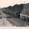 Picture taken in September, 1948. Grave markers are temporary still.