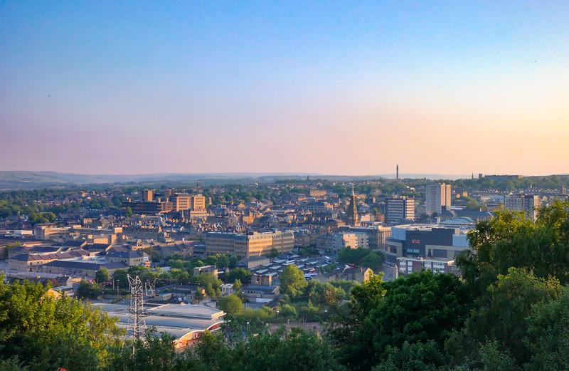 Panoramic view of Halifax
