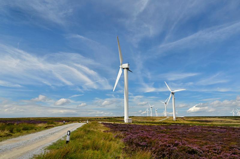 Wind Turbines at Ovenden Moor