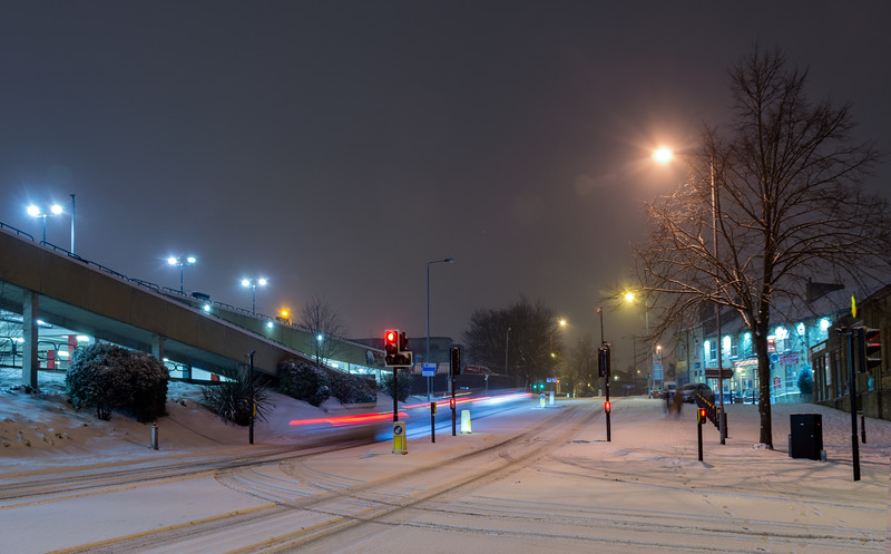 Smithy Street and Woolshops at Winter