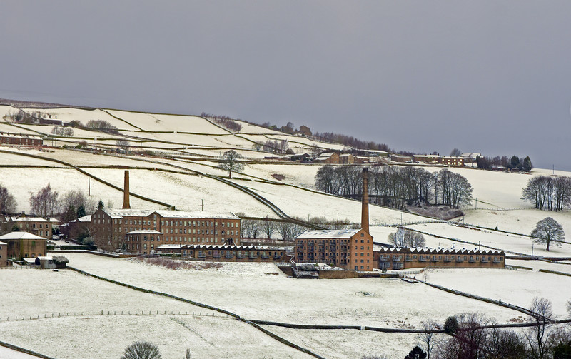Oats Royd Mill at Winter