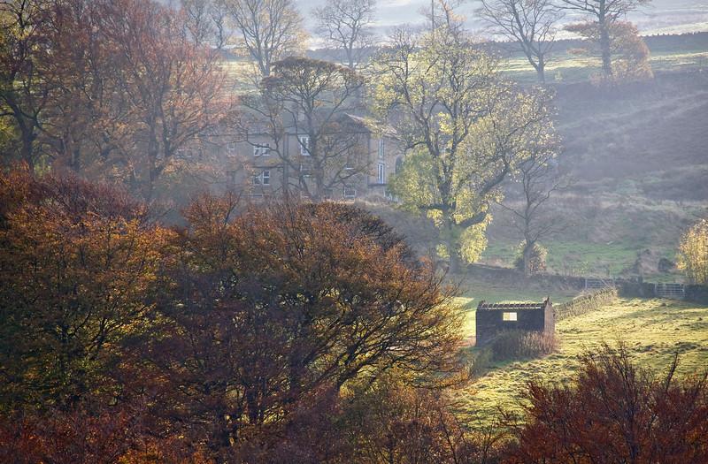 Ripponden at Autumn