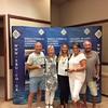 Mixed Pivot Teams winners -  Tom Gisborne, Sandy Davies, Joy Blakey, Irving Blakey,