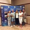 Swiss Teams winners - Sandy Davies, Tom Gisborne, Joy Blakey, Irving Blakey,