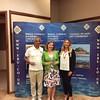Swiss Pairs winners - Gad Chada & Debbie Sandford