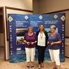 Women's Pairs winners - Pauline Cohen & Elizabeth Barnard