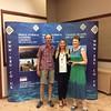 Mixed Pairs winners - John Brearley & Judy Brearley