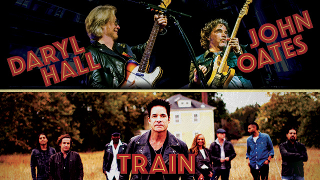 Hall & Oates and Train - 2018