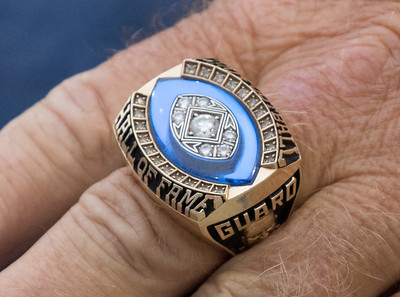 Billy Shaw NFL Hall of Fame Ring October 15, 2015