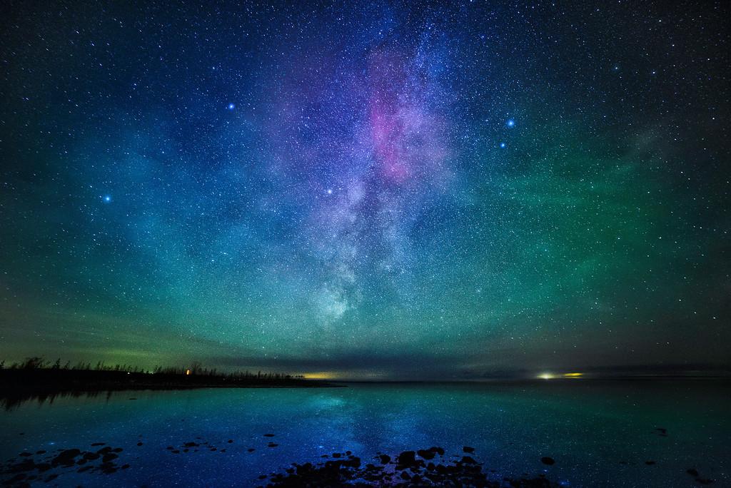 Robert Hall - Milky Way Over Emmett