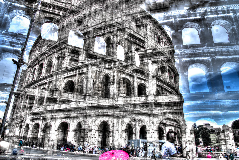 Fotograaf: Michel Evers. Colosseum Rome