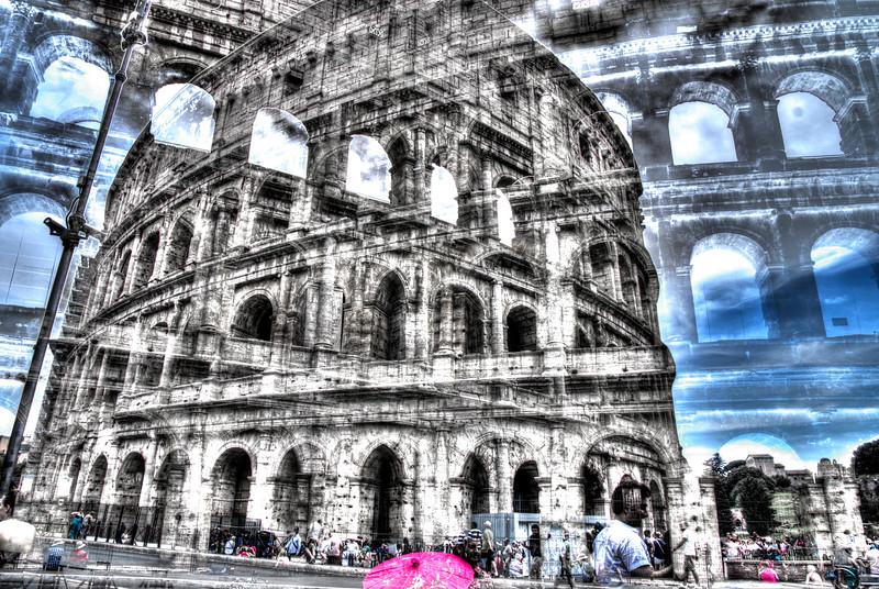 Fotograaf: Michel Evers. Colosseum Rome