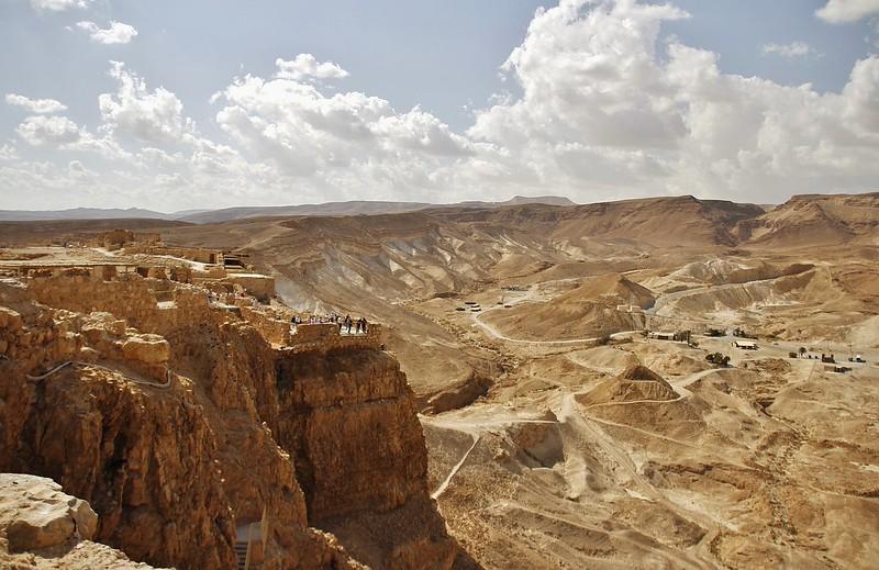 Fotograaf: René Blom. Masada