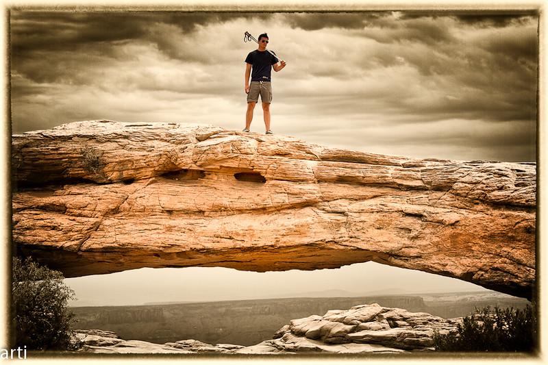 Fotograaf: Ivan Geerts. Zoon op een oog te Westkust USA deze foto is zwart wit en ...