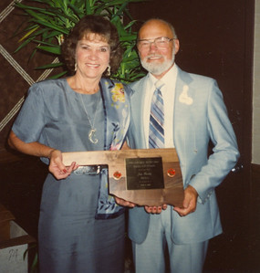 Jim & Jackie Meeks - Superior Skill (Photo from 1990 Oklahoma Bowling Hall of Fame Ceremony)