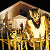 SENTINEL & ENTERPRISE / BRETT CRAWFORD<br /> The Letarte's home decorated for Halloween on 280 Whalom Street in Lunenburg, Thursday.