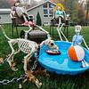 Halloween displays on Scenic Dr. in Leominster. SENTINEL & ENTERPRISE / Ashley Green