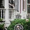Halloween displays on Washington St. in Leominster. SENTINEL & ENTERPRISE / Ashley Green