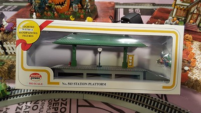 This station fits the layout and is reasonably priced.  Needs painting though