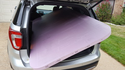 Foam board is too big for my vehicle