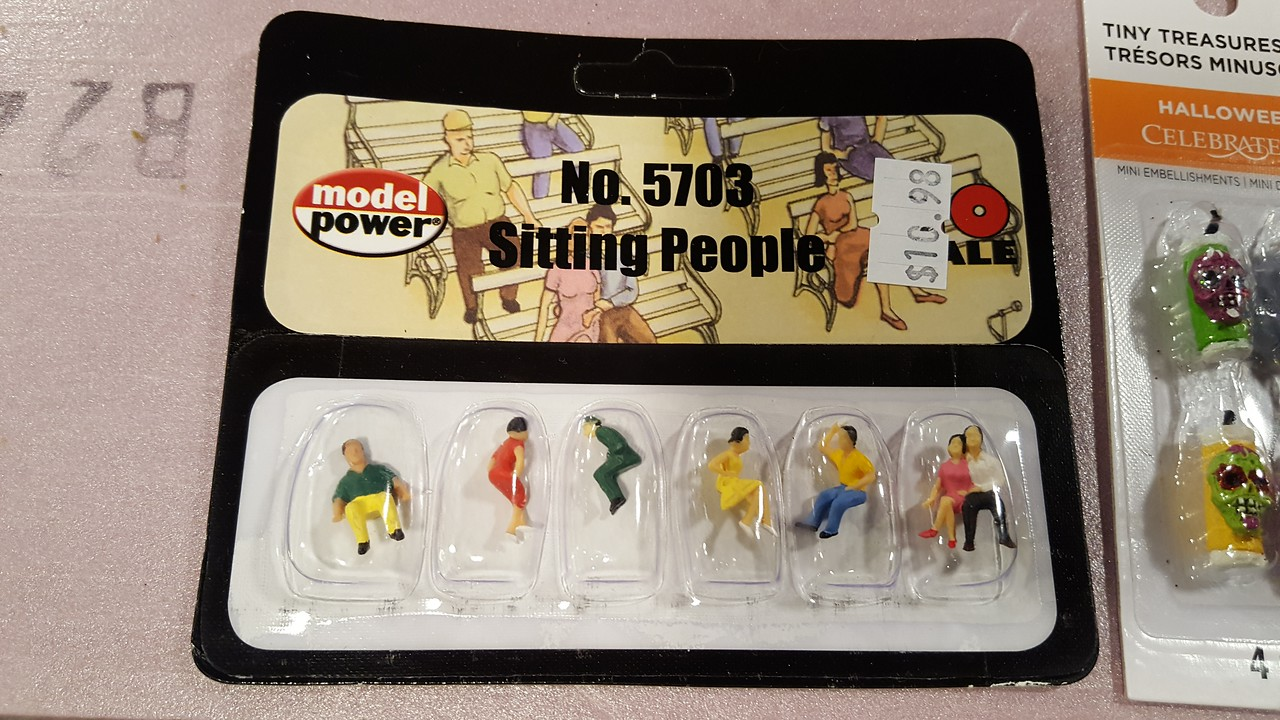 Seated people are expensive. These will hopefully fit the excursion cars.