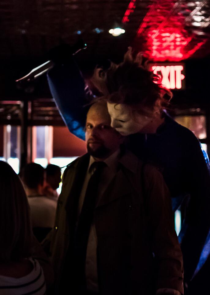 Halloween In Greenwich Village
