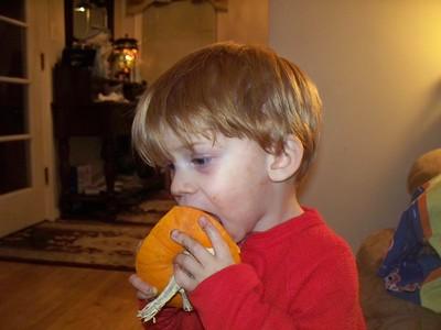 2010 Carving Pumpkins 10-28-2010
