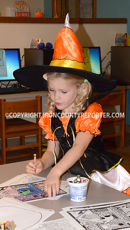 Halloween at Library  10-24-2015