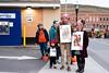Trick-or-Treaters on Elliot Street during BrattleBOO festivities; KELLY FLETCHER; REFORMER CORRESPONDENT