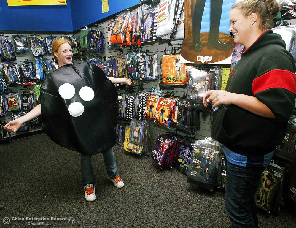 zoe benson models a bowling ball to her friend kelsey mansfield tuesday afternoon at