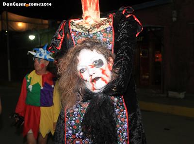 Halloween in San Juan del Sur