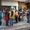 Main Street in Fitchburg was closed down on Saturday for the annual Halloween on Main Street event. Lines where long to get candy that was being given out by the companies on Main Street. SENTINEL & ENTERPRISE/JOHN LOVE