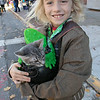 Main Street in Fitchburg was closed down on Saturday for the annual Halloween on Main Street event. Atherton <br /> Conklin of Fitchburg, dressed as a pirate, had his cat Scooby Doo with him for the event. SENTINEL & ENTERPRISE/JOHN LOVE