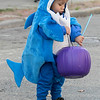 Main Street in Fitchburg was closed down on Saturday for the annual Halloween on Main Street event. Natah Alkenani was dressed as a baby shark of the event. SENTINEL & ENTERPRISE/JOHN LOVE