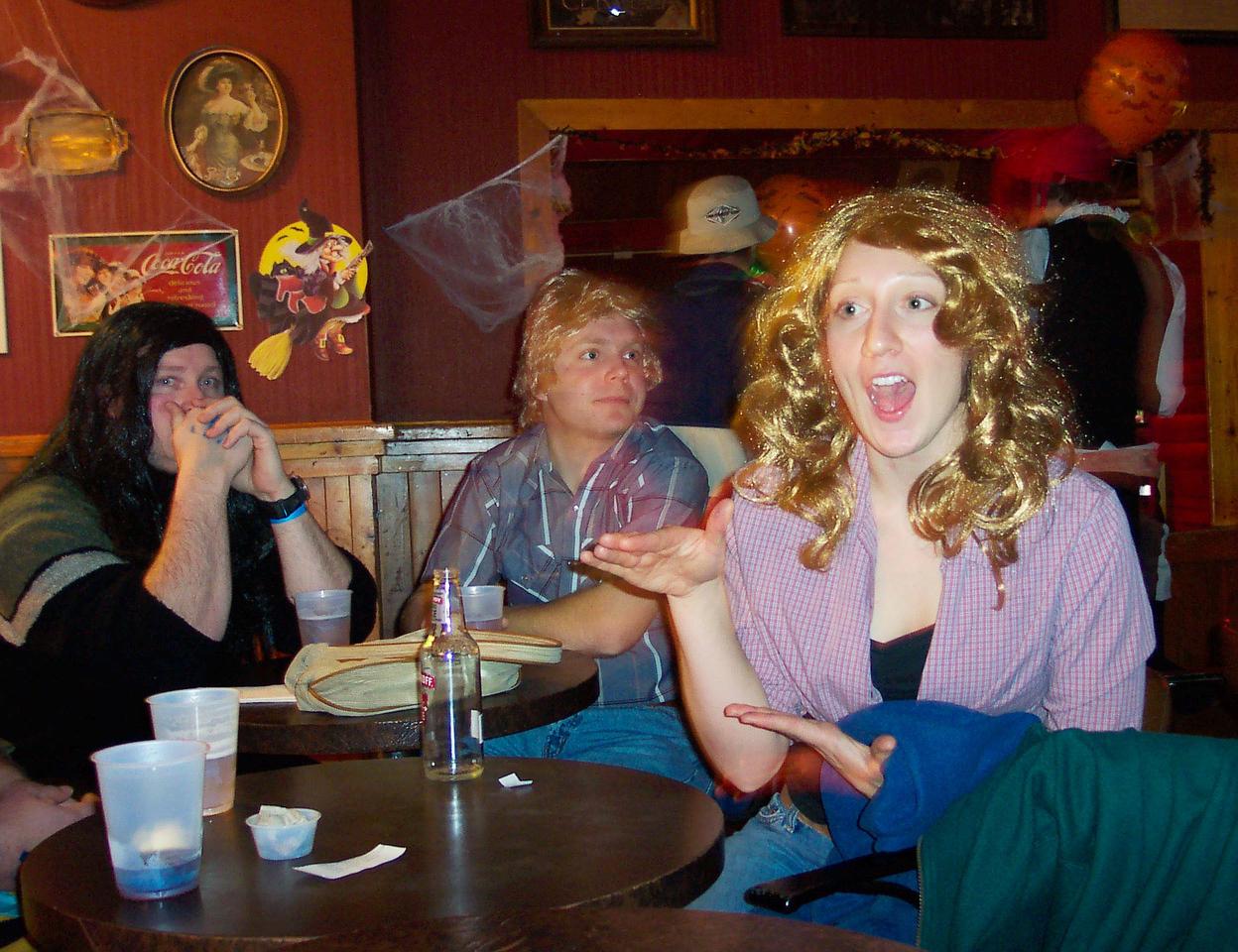 Hagred (Chester), Bo (Chris), Daisy (Christine).