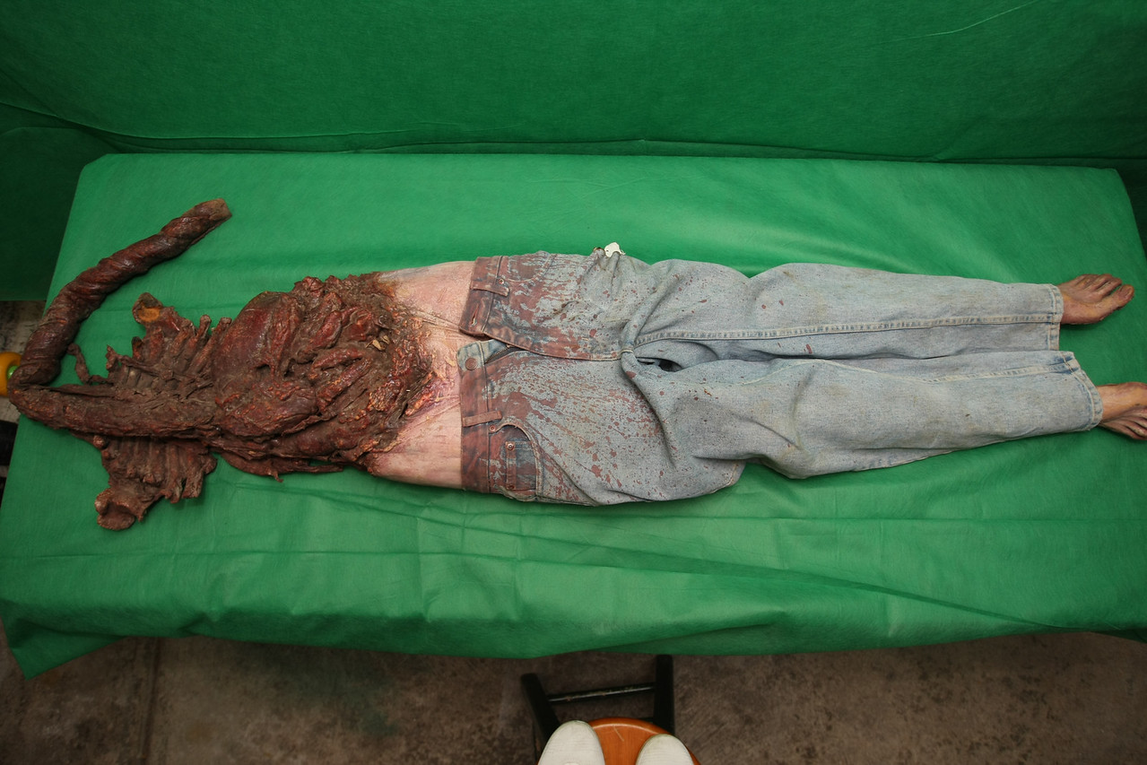 Headless Corpse 1 - front view