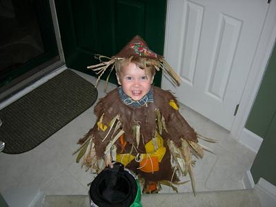 Christian as a Scarecrow.