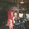 Patty and I at Zapps for Halloween '90