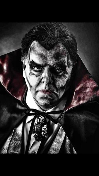 Halloween Count Dracula