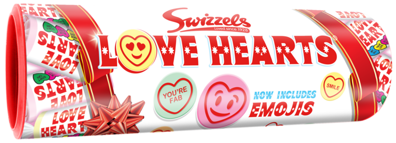 84920 Gift Tube Love Hearts 108g Tube