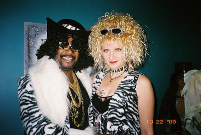 2005-10-22 -Hollywood Night Masquerade-zebra team