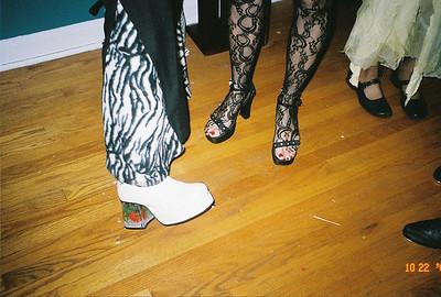 2005-10-22 -Hollywood Night Masquerade-shoes